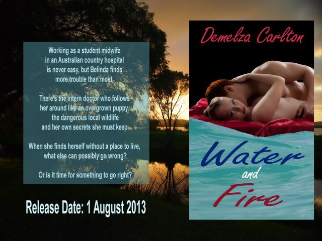 Water and Fire Cover Reveal Release Date