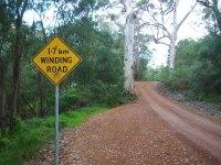 Road to Braeside, Elleker, Western Australia