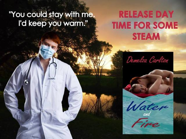 Water and Fire Paperback Release
