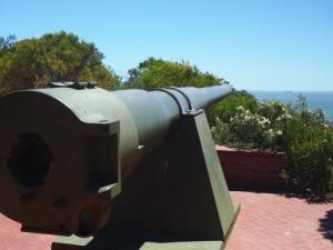 Six-Inch Gun, Leighton Battery