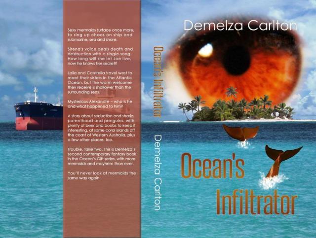 Ocean's Infiltrator paperback cover