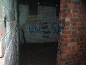 Inside the Ammunition Bunker