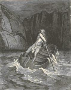 Charon - The Ferryman of Hell by Gustave Dore