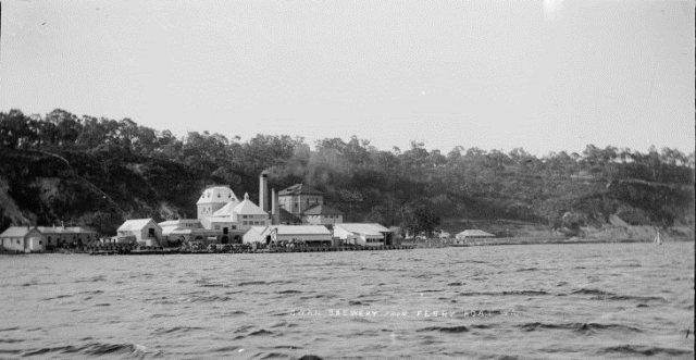 Old Swan Brewery, Mounts Bay Road, circa 1900