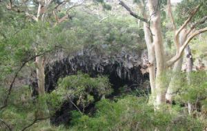 Entrance to Lake Cave, Western Australia