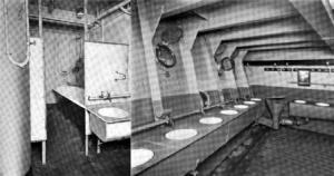1920s ship washrooms