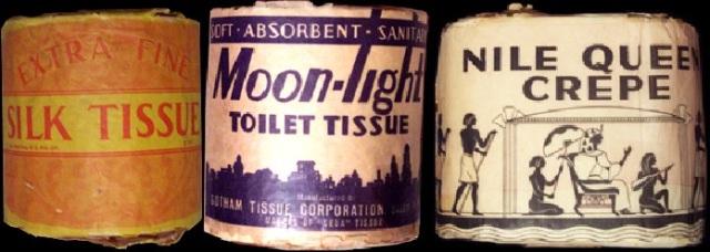 1920s toilet paper rolls