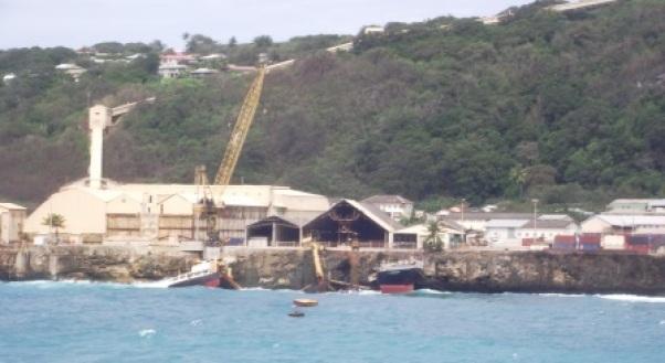 MV Tycoon Shipwreck January 2012