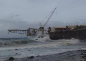 Swell during Cyclone Iggy, 2012