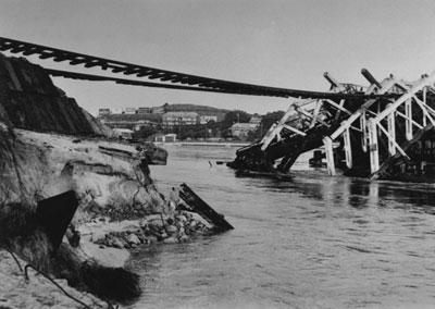 1926 rail bridge collapse GA7477