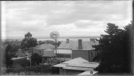 Backyard windmill in Fremantle 1910