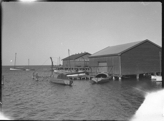 Fremantle Fish Market circa 1923