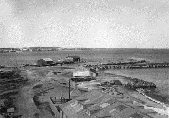 Fremantle Fish market and seawall