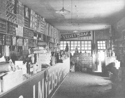 Fremantle Grocery Store circa 1910 low res