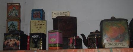 1920s Tea Tins