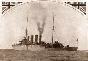 HMAS Sydney leaving Albany, November 1914