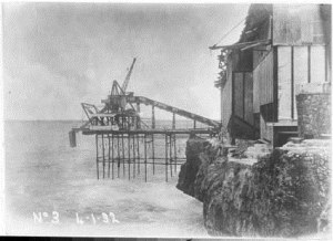No 1 Pier and the remains of No 2 pier