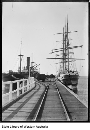 Busselton Jetty circa 1910
