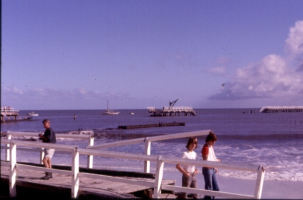 Busselton Jetty after Alby 1978 - Vern Bussell