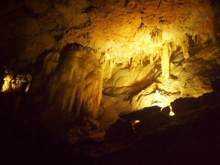 Columns in Crystal Cave, Yanchep