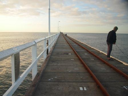Fishing off the Busselton Jetty, 2014