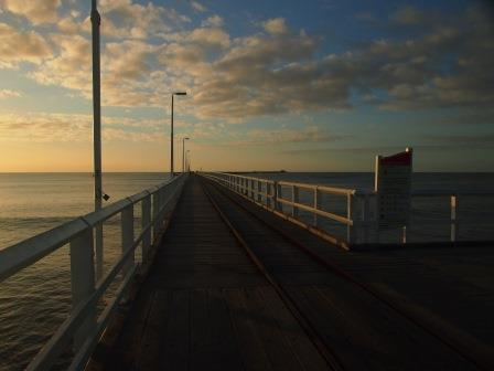 Busselton Jetty from shore, 2014