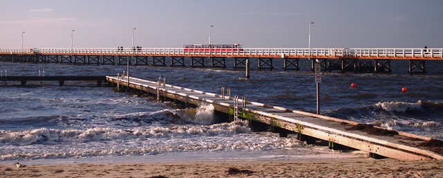 Busselton Jetty Train, 2014