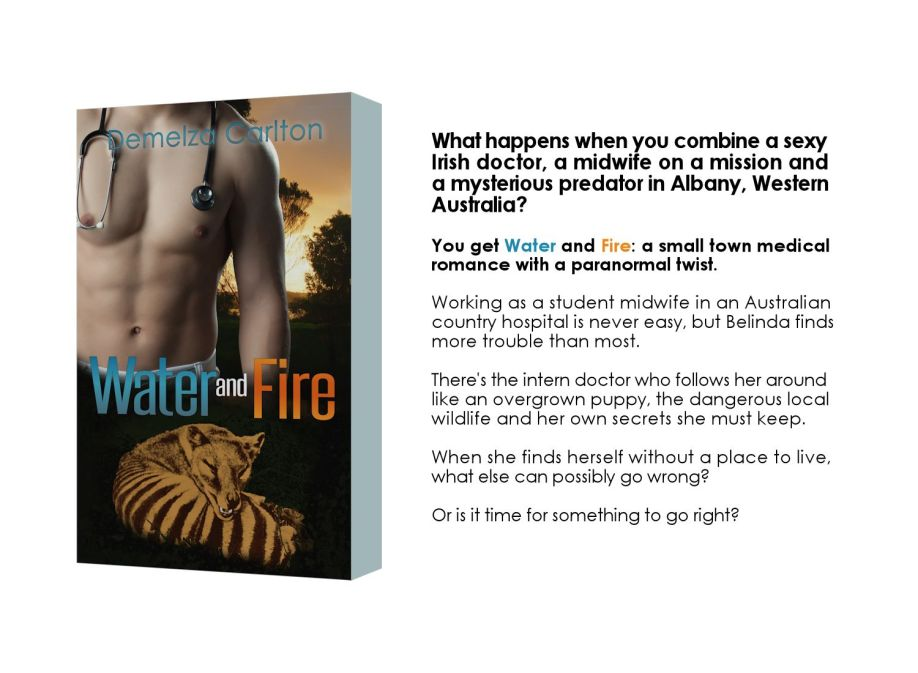 Water and Fire free book graphic for newsletter