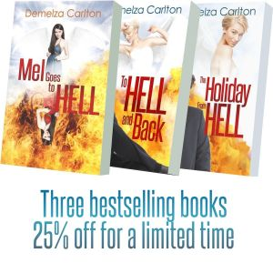 Mel Goes To Hell Box Set Books discount med res